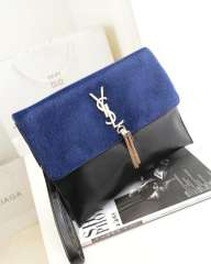 Horse hair fashion double shoulder evening banquet bag