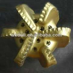 Steel body PDC drill bit for water well drilling