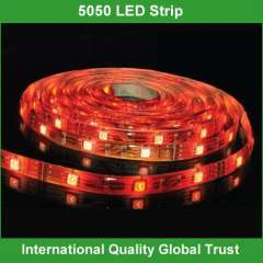 High quality waterproof smd 5050 led strips 12v