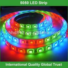 hot-sale 5050 smd waterproof rgb led strip light