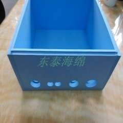EVA foam packaging | one-piece blue EVA packaging | customized production of various EVA packaging