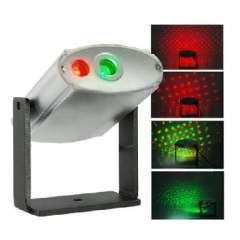 Laser Effects Projector With Red And Green Lights