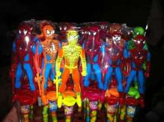 Spiderman toy candy