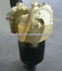 5 blades steel body PDC bit for well drilling