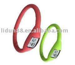2012 fashionable silicone energy watch welcome