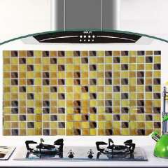 Kitchen with aluminum foil high-temperature oil sticker - squares