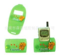 Supply of new Korean version of mobile phones, super cute cartoon creative silicone PVC mobile phone holder