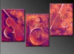 Fashion handmade abstract oil painting frameless OIL0150