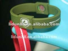 2012 popular frequency energy silicone rubber wristbands Timepieces, Jewelry, Eyewear