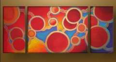 Fashion handmade abstract oil painting frameless OIL0086