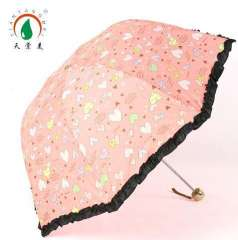 Mushroom Discoloration Rain Umbrella