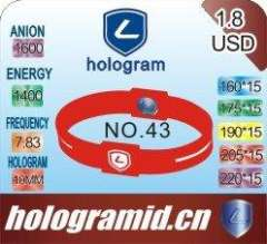 2012 Paypal-available Sport Silicone Balance Bracelets\Bangles in Hologram, 100%silicone, Eco-friendly and harmless to body
