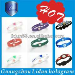 hot wholesale silicone negtive ion bracelets