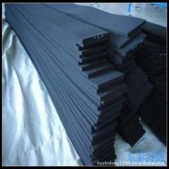 Supply 94V-0 flame temperature CR foam, anti-oil / corrosion-resistant rubber foam, CR neoprene foam