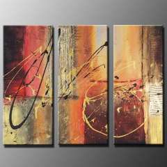 Fashion handmade abstract oil painting frameless OIL0043