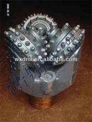 Insert tooth tricone bit for well \oil drilling
