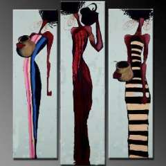 Fashion handmade abstract oil painting frameless OIL0017