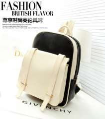 Fan Ke Korean version of casual fresh college wind hit color small travel backpack