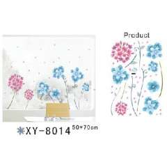 Magical removable | Wall stickers | colorful flowers