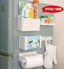 Good aunt multipurpose refrigerator storage rack Wujiantao combination