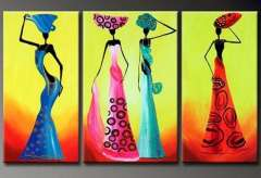 Fashion handmade abstract oil painting frameless OIL0167