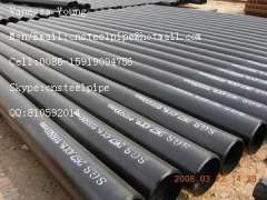 ASTM A106 Black Seamless Pipes