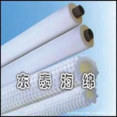 Supply of protective foam pipe, PVA absorbent sponge to scrub clean tube, pipe cleaning sponge column