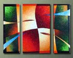 Fashion hand abstract oil painting frame OIL0131