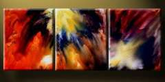 Fashion handmade abstract oil painting frameless OIL0175