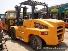 9 into a new second-hand seven tons Liugong forklift, Shanghai Feng Jie supply of second-hand truck, five tons forklift prices