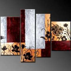 Fashion handmade abstract oil painting frameless OIL0051