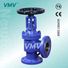 Angle Bellows Seal Globe Valve