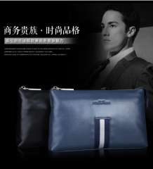 Men's leather clutch clutch bag large capacity
