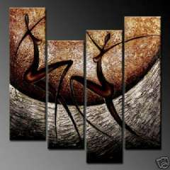 Fashion handmade abstract oil painting frameless OIL0016
