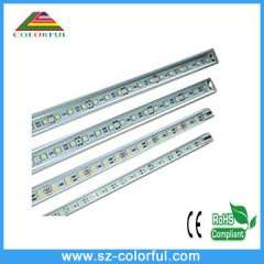 10cm smd5050 rigid led light strip dimmable led bar light with best price and quality