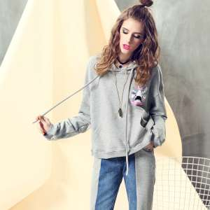 Fendeng pajamas women's cotton long-sleeved 2016 autumn and winter new cartoon cotton girl lovely home service suits