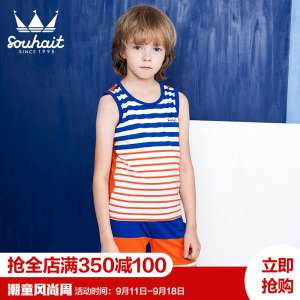 M short-sleeved baby suit 0-1 years old baby casual summer summer T-shirt sleeve 3 year-old boy cartoon summer suits