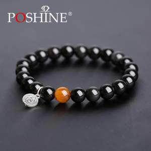 Poshine / Peng Xia original obsidian Zodiac bracelet male and female zodiac
