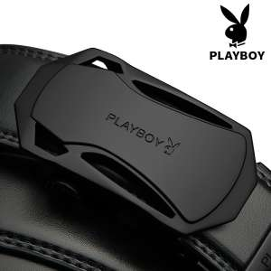 Playboy belt Men's youth Automatic buckle Casual belt Middle-aged student Korean cowboy wild men's trousers