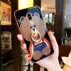 Cute bear couple shell | Huawei mate9 mobile phone shell female tide male protective cover soft silicone all-inclusive personality creative