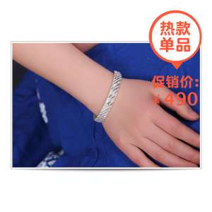 DMY / wearing a dream margin gold 999 sterling silver bracelet female classic meteor shower silver bracelet open silver to send his girlfriend