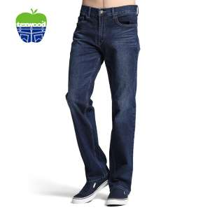 Texwood Official New Apple | soft gato deve ser calça jeans masculina 9016848U