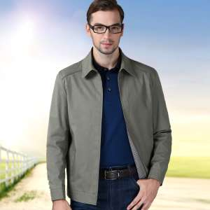 Counter cotton sleeveless men's jacket solid color leisure jacket large size men fall lap father