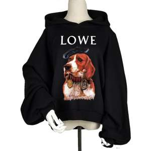 Taigee waiter ulzzang loose student big size hooded sweater ladies tide brand lantern sleeve girlfriend coat