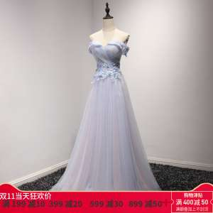 Wedding dress bridal toast dress dress 2017 new banquet noble and elegant meeting host female