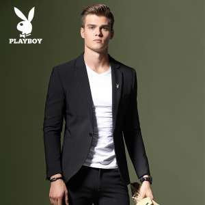 Playboy suits men business casual Slim Korean suits handsome men jackets young wedding dresses