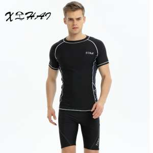 Men's swimsuits swim suit swimsuits | swimsuits men's flat pants | men's long sleeves shirt sunscreen diving suits