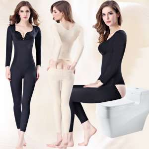 It will be stripped body sculpting body piece long sleeve trousers thin section of the trace of the abdomen thin waist clothing body lingerie