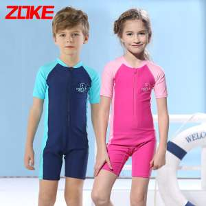 Chaukei children swimsuit girl conjoined boy girl middle boy baby swimsuits swim trunks children swim suits