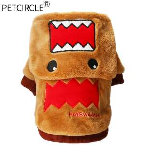 Dog clothes autumn and winter pet clothes teddy puppy poodle dog clothes two feet sweater pet supplies
